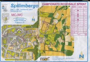 Orienteering-Spilimbergo-carta-2014