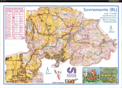 Sovramonte 28.09.2014 WC gps